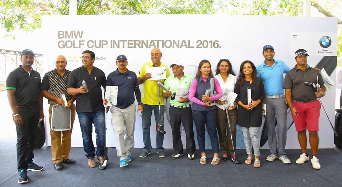 Navnit Group Bmw Golf International Cup 2016 Bangalore