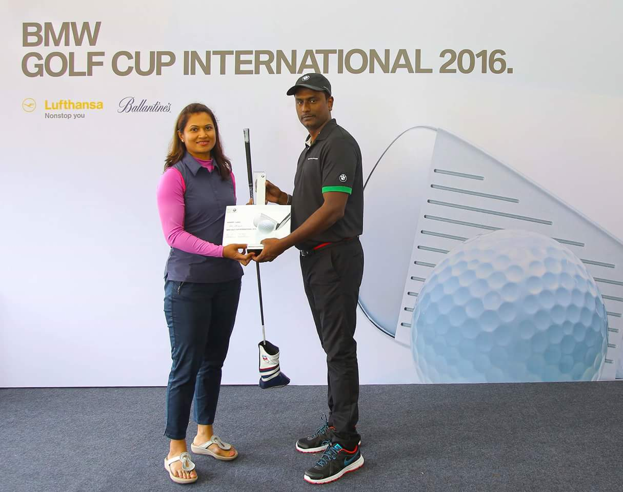 BMW  Golf International Cup 2016 – Bangalore