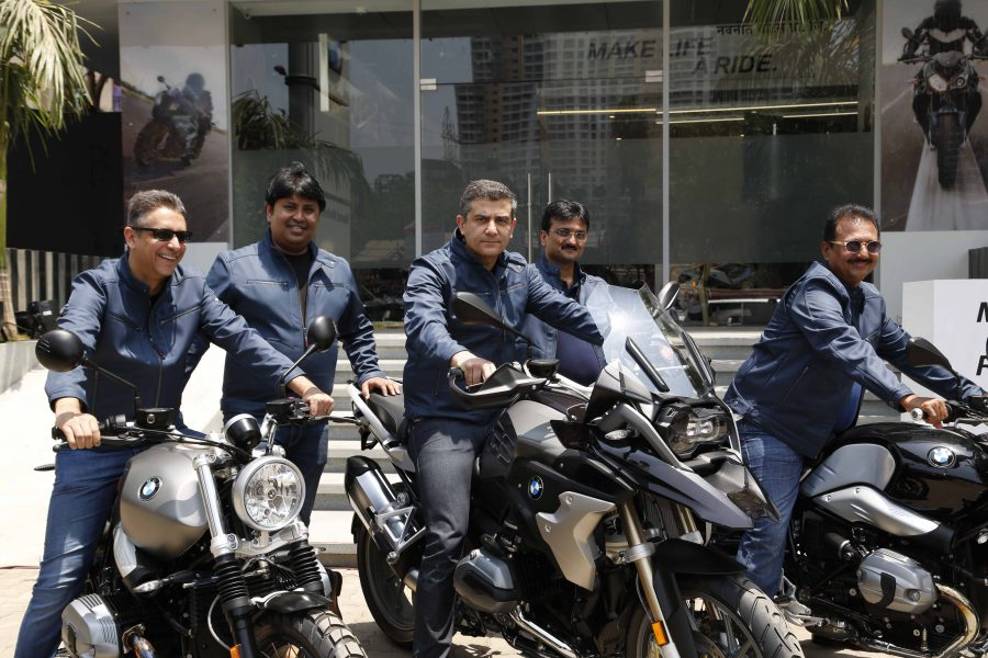 Launch of BMW Motorrad Showroom